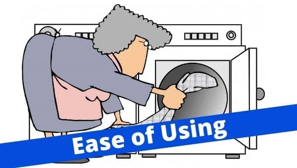 Ease of using Portable washing machine