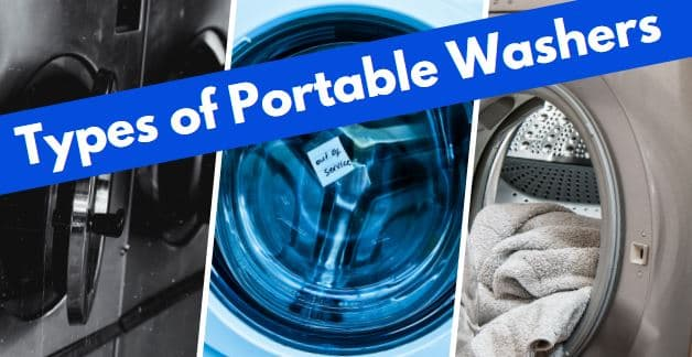 portable washing machines types